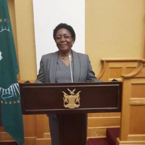 Joyce Namuhuja, Windhoek
